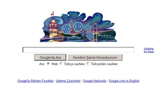 Google'dan İstanbul'a Jest