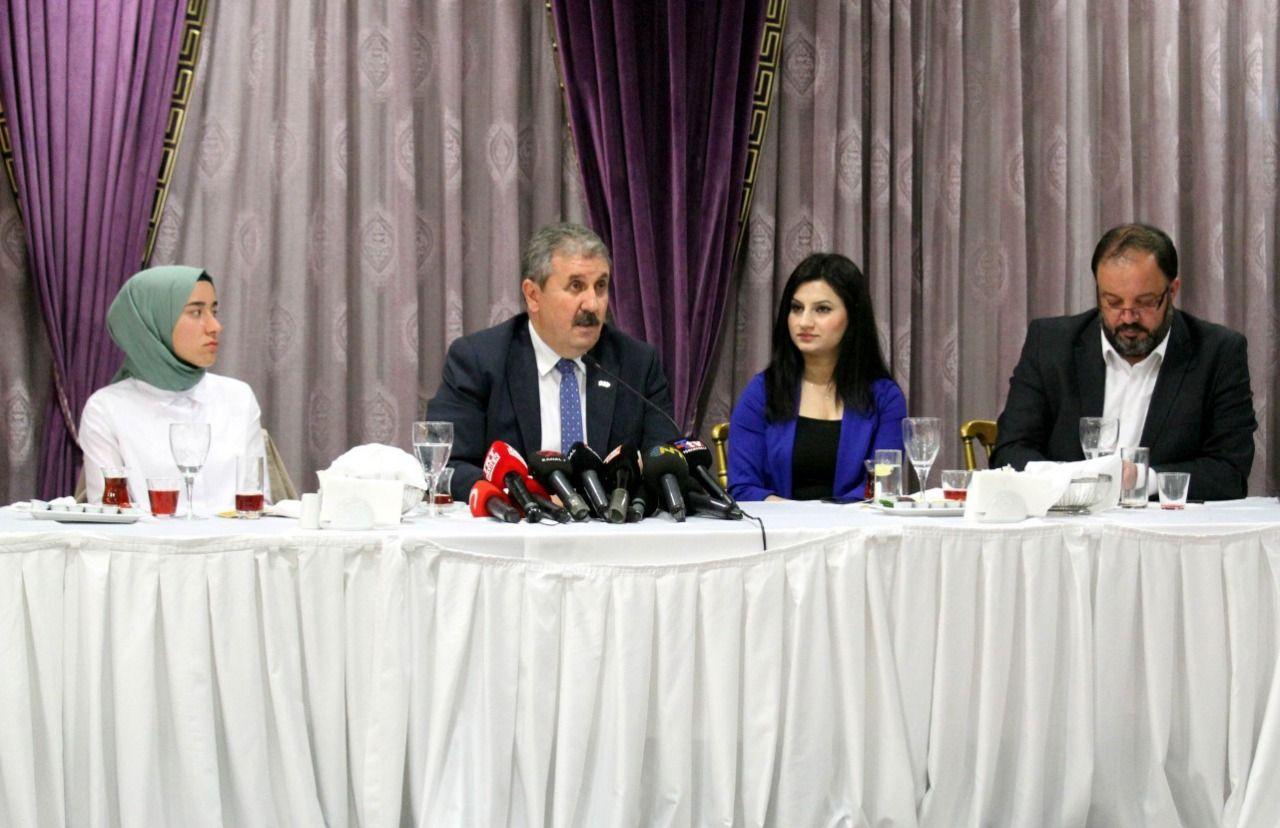 Mustafa Destici: Türkiye Cumhuriyeti Devleti, buna müsaade edemez