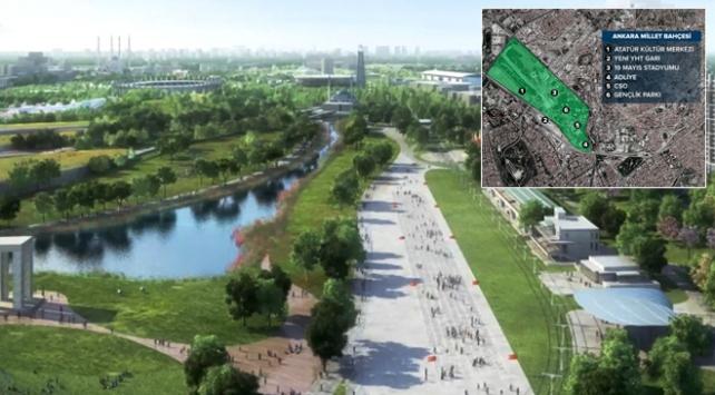 Ankara Millet Bahçesi Avrupa'nın en büyüğü olacak