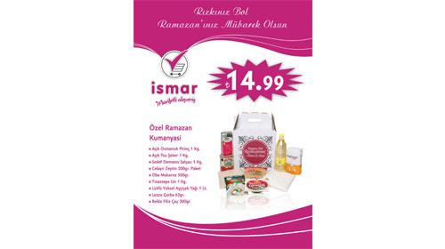 İSMAR'dan Ramazan için hesaplı kumanya