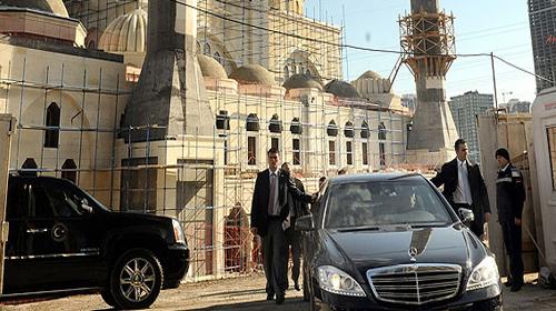 Erdoğan Mimar Sinan Camisi'ni İnceledi