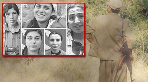 Erdoğan'ın Bahsettiği 5 PKK'lı Kız!