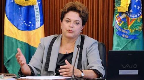 Brezilya Devlet Başkanından Taziye Ziyareti