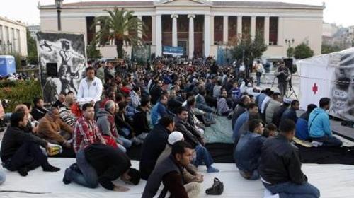 Atina'da Bayram Namazı Krizi