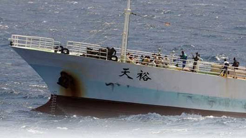 Korsanlar Çin Gemisi Kaçırdı