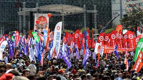 Taksim'de Olaysız 1 Mayıs
