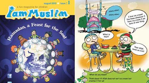 Çocuk dergisi 'IamMuslim' İslam'ı öğretiyor