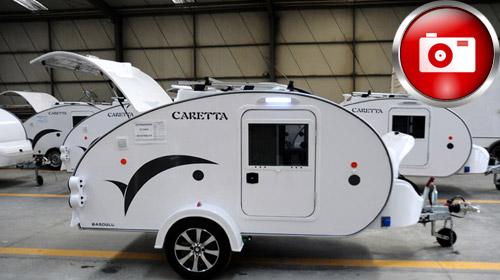 İki Kişilik Mini Türk Karavanı Caretta