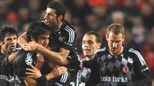 Beşiktaş'ın Zaferini UEFA'da Gördü