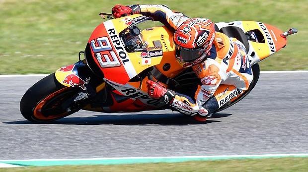 MotoGP'de şampiyon Marquez