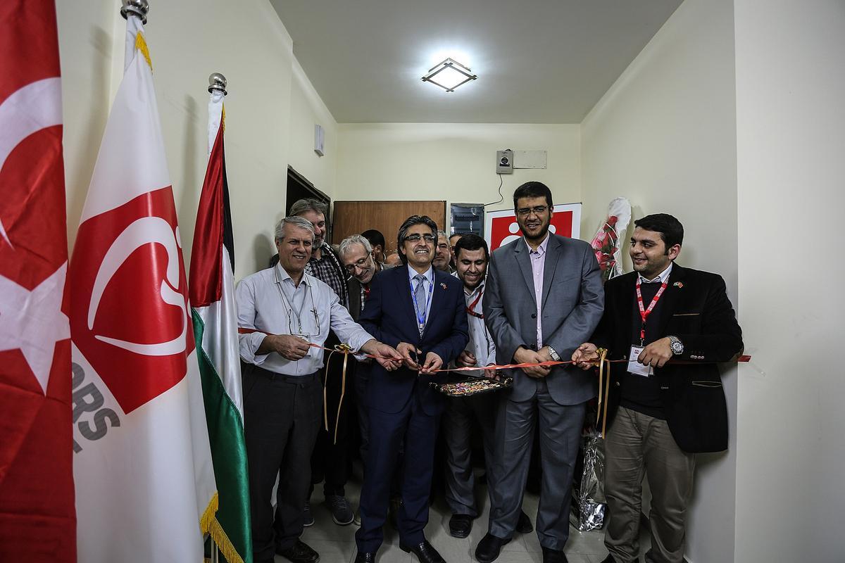 Yeryüzü Doktorları Gazze Ofisi hizmete açıldı.
