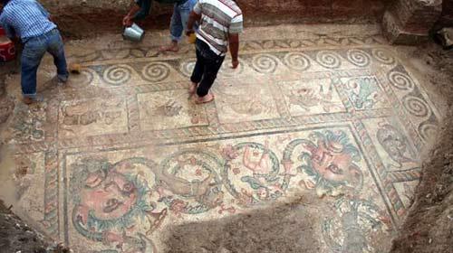 Tarihi mozaikler de sorun yok