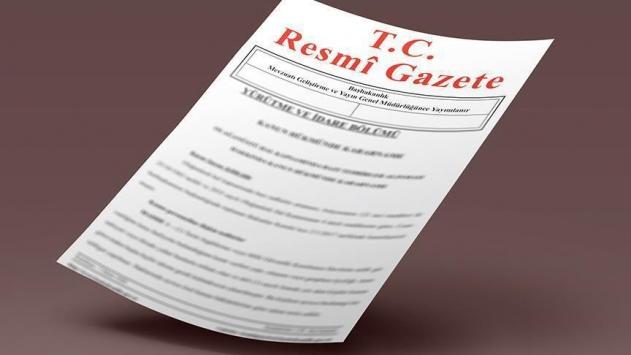 Kenan İpek'in Yargıtay üyeliğine seçilmesi Resmi Gazetede