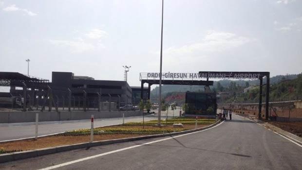 Ordu-Giresun Havalimanı Açılıyor