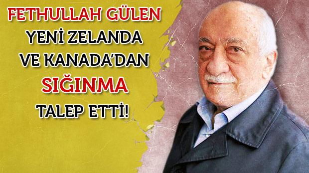 Gülen'in ABD'ye sığınma talebine ret cevabı