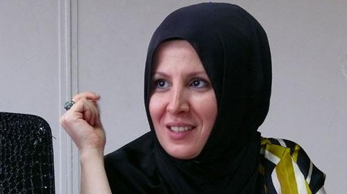 Sibel Üresin'den kadına şiddete destek