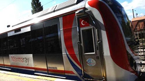 Marmaray'ın trenleri seferde