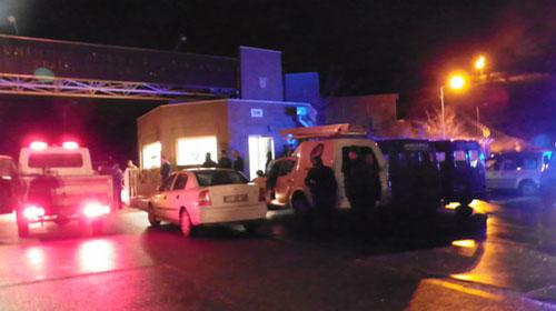 Cizre'de Polis Karakoluna Saldırı