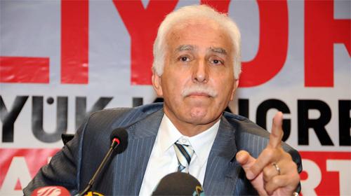 Mustafa Kamalak Yeniden Genel Başkan