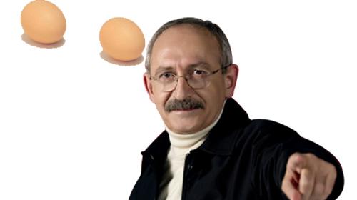 Kılıçdaroğlu'na Yumurta Atıldı!