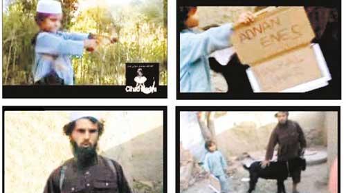 5 yaşında Türk Taliban oldu
