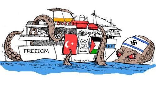 Latuff'un Gözüyle Özgürlük Filosu!