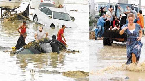 Edirne'de Sel Alarmı