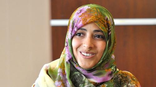 Yemenli aktivist Nobel ödülünü bağışladı
