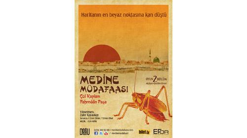 Medine Müdafaası Sahnelere Taşınıyor