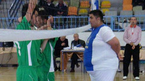 181 Kiloluk Voleybolcu!