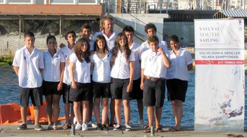 Genç Yelkenciler İstanbul'da!..