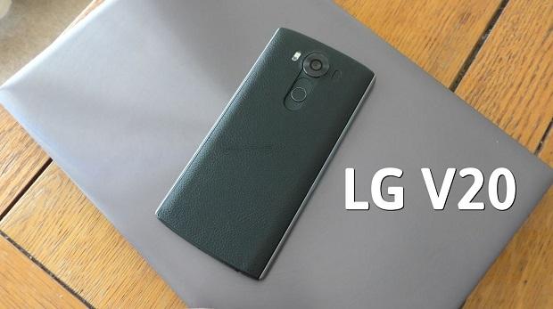 LG V20, dünyada Android 7.0 Nougat'a sahip ilk telefon olacak