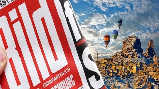 Bild gazetesi tatil adresi olarak Türkiye'yi gösterdi