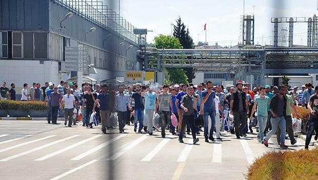 OYAK Renault'da işçilerin eylemi sona erdi