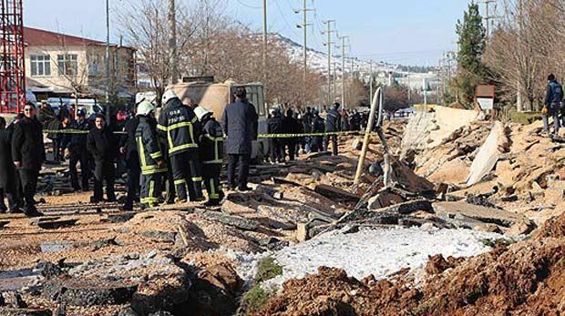 Gaziantep'te patlama: 2 yaralı