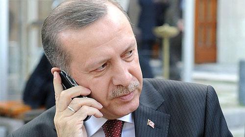 Erdoğan Terim'i aradı
