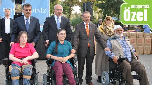 Bayrampaşa Belediyesi engellileri sevindirdi