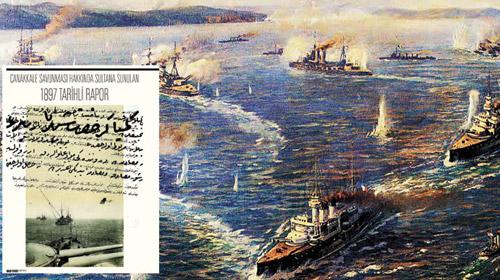II. Abdülhamit Çanakkale'ye Torpil Döşetmiş