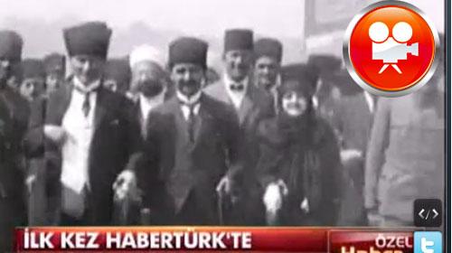 Atatürk ve Latife Hanım'ı Hiç Böyle Görmediniz!