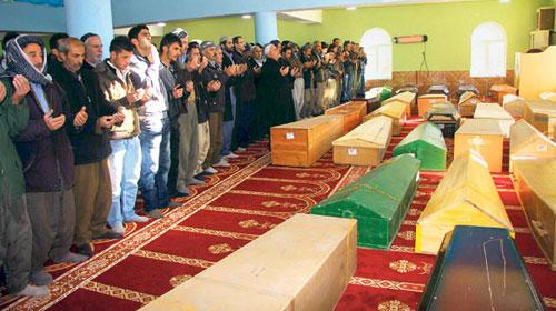 Uludere mağdurlarına 150'şer bin lira tazminat