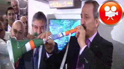 Bakan Çağlayan 'dan 'Vuvuzela' Show…