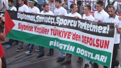 Maccabi Protesto Edildi