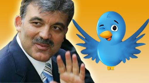 Gül'den Bloglar İçin Twitter'den Mesaj