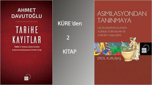 """Küre Yayınları Ahmet Davutoğlu'nun """"Tarihe Kayıtlar'ını yayınladı"""