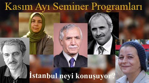 İstanbul'da Konular ve Konuşanlar