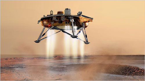 "Mars'a ""Merak"" Robotu"