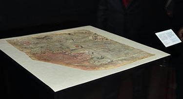 Denizlerin Piri'nin haritaları sergileniyor