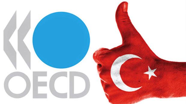 OECD 2016 Türkiyesi için % 4 büyüme öngörüyor