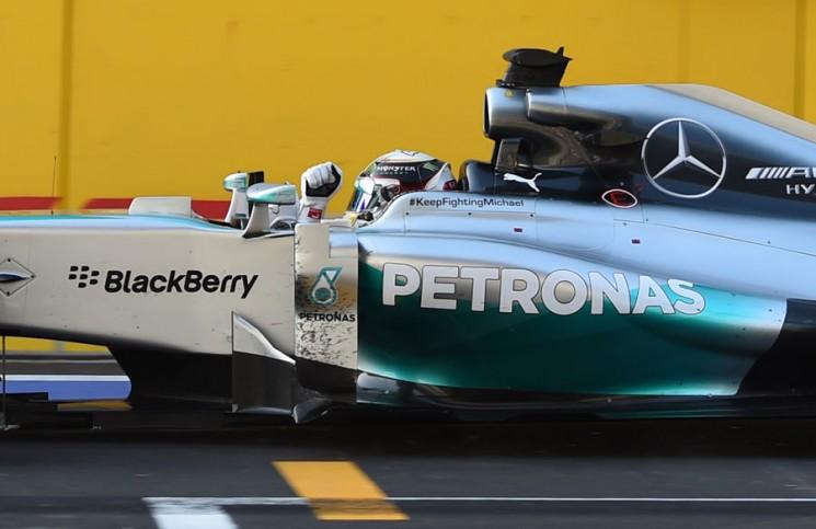 Bahreyn GP'yi Lewis Hamilton kazandı