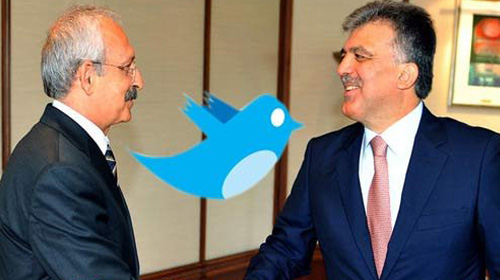 Kılıçdaroğlu'ndan Gül'e Twit!